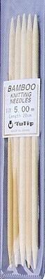 Bamboe naald 3 zonder knop