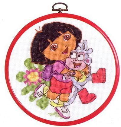 Dora met Boots