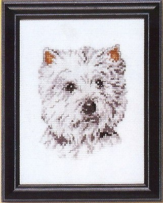 Wit hondje