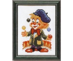 Jonglerende Clown