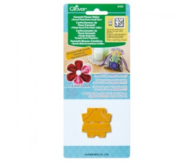 Kanzashi Flower Maker - Round Petal extra small 35mm