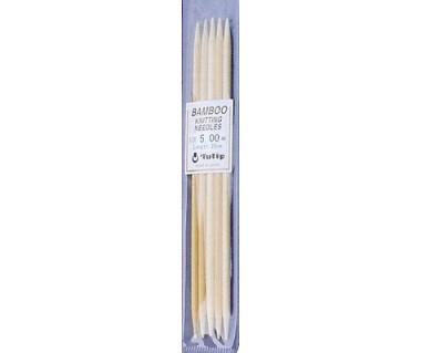Bamboe naald 2,5 zonder knop