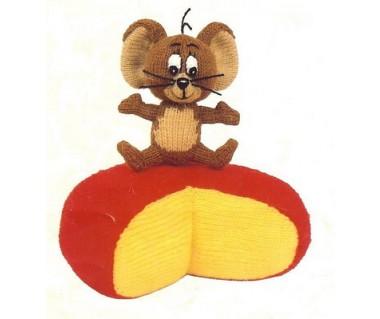 Jerry op een kaas