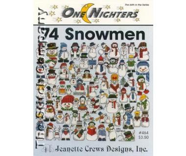 74 Snowmen