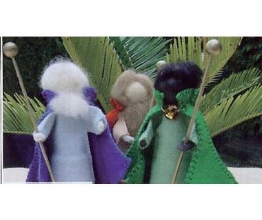 Kegelpopjes-Drie Koningen